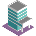 3d office property icon