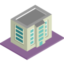 3d multifamily property icon